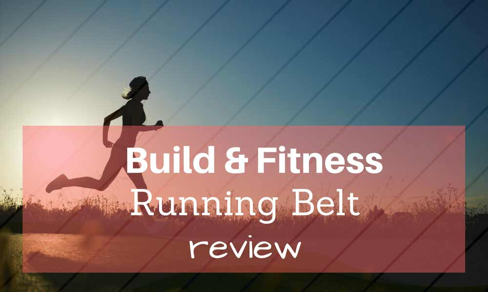Build & Fitness Running Belt
